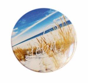 Button z przypinką (58 mm) - okrągły znaczek reklamowy
