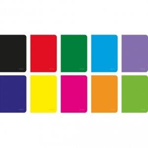 Zeszyt A5 60 kartek w kratkę Rainbow - Herlitz