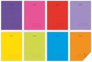 Zeszyt A5 60 kartek w linie PP Transparent Colors - Herlitz