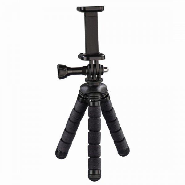 Mini statyw flex 2w1 14 cm, czarny