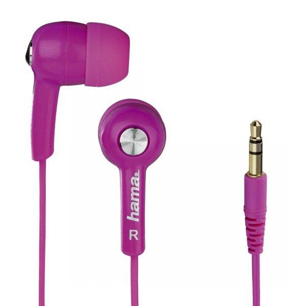 Słuchawki-douszne-HK2103-różowe-Hama