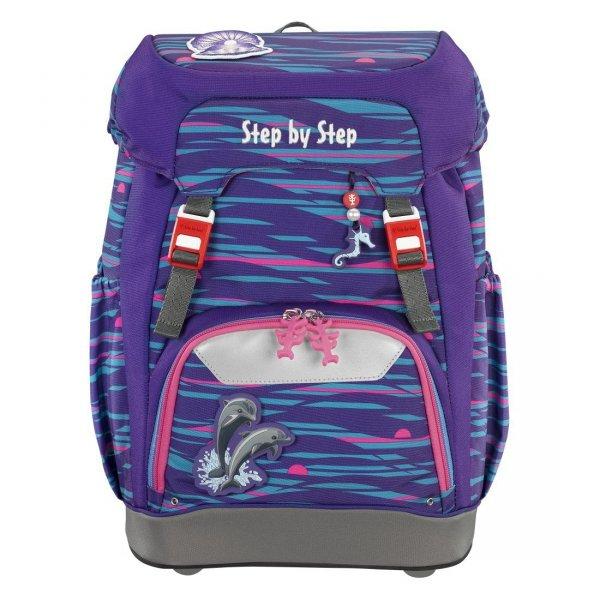 Plecak-szkolny-Grade-Shiny-Dolphins-Step-by-Step