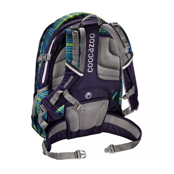 Plecak-szkolny-Evverclevver-2 Walk-The-Line-Lime-Coocazoo