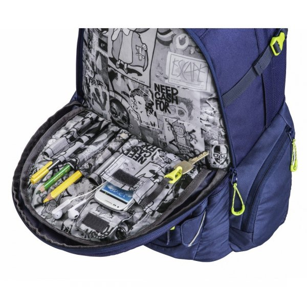 Plecak Carrylarry II, Kolor: Seaman System Matchpatch