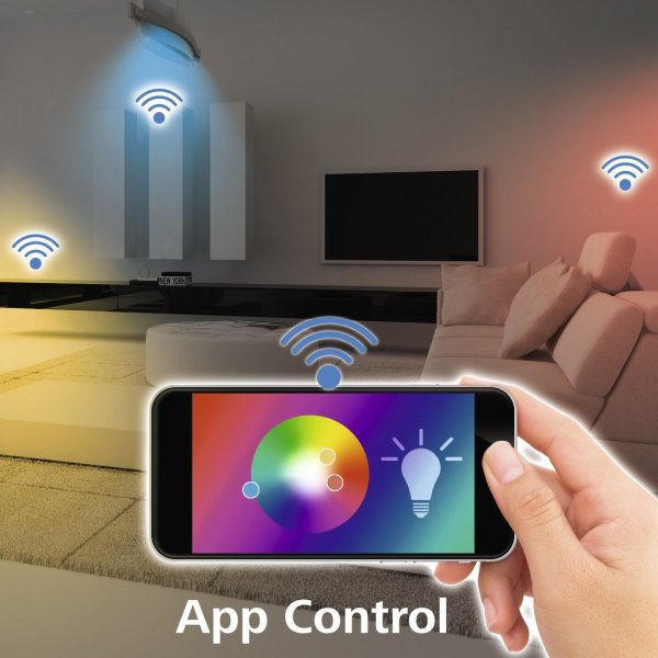 Podwójny włącznik światła wifi HAMA - Inteligentny Dom