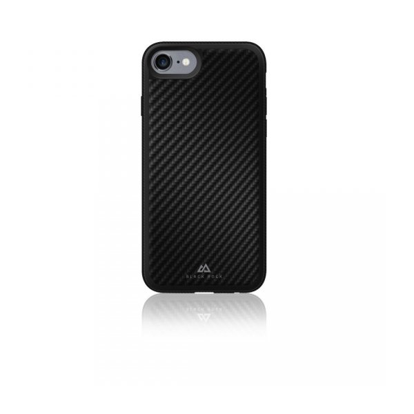 Etui-do-iPhone-7-Material-Case-Real-Carbon-czarne-Black-Rock