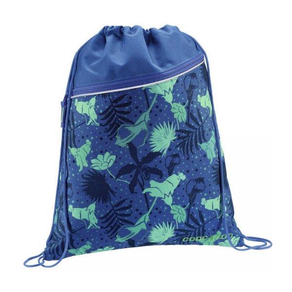 Worek-na-buty-Rocket-Pocket-2-Tropical-Blue-Coocazoo