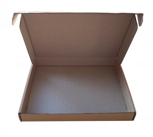 Pudełko z tektury falistej 220x160x30 mm | entero.pl - idealne rozwiązania