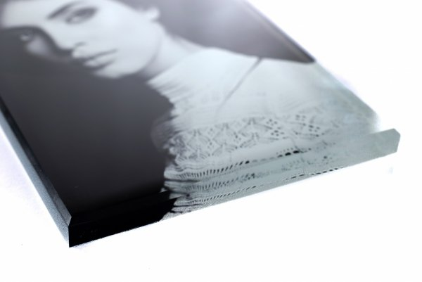 Zdjęcie na pomnik na szkle o grubości 1cm - format 10x15