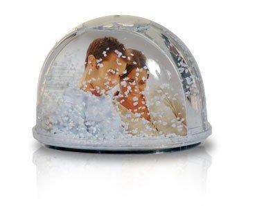 kula śnieżna ze zdjęciem