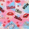 Duża Torba Podróżna Kuferek Or&Mi Kiss Multikolor - Różowa