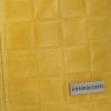 Modne Torebki Skórzane Shopper Bag XL z Etui firmy Vittoria Gotti Żółta