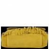 Modna Listonoszka Skórzana z Frędzlami firmy Vittoria Gotti Żółta