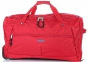 Cestovní taška na kolečkách s teleskopickou rukojetí renomované firmy Madisson červená