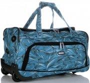 Velká Cestovní taška na kolečkách s teleskopickou rukojetí renomované firmy Madisson Multicolor - Modrá