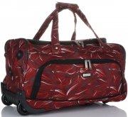 Velká Cestovní taška na kolečkách s teleskopickou rukojetí renomované firmy Madisson Multicolor - červená