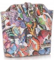 Kabelka listonoška na každý den Vittoria Gotti Multicolor Šedá