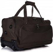 Velká Cestovní taška na kolečkách s teleskopickou rukojetí renomované firmy Madisson Čokoláda
