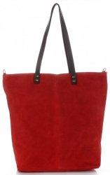 Univerzální Dámské kabelky Vera Pelle červená
