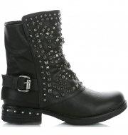 Dámské boty Crystal Shoes Černé