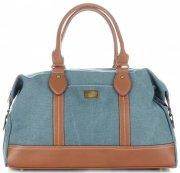 Solidní cestovní taška David Jones tyrkysové