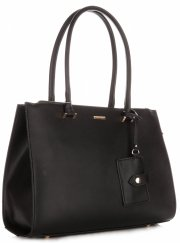 Dámská kabelka kufřík DAVID JONES černá
