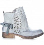 Dámské boty Lady Glory stříbrné