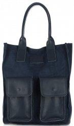 Dámské kabelky Vittoria Gotti Univerzální Tmavě modrá