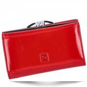 Klasická Dámská Kožená Peněženka Nicole červená