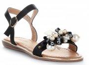 dámské sandály černé