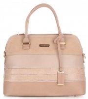 Dámská kabelka kufřík DAVID JONES zemitá