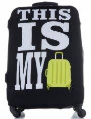 Obal na kufr Snowball M size This is My černý