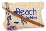 Univerzální Dámské kabelky David Jones Béžová Beach Holiday