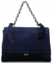 Elegantní Dámská kabelka kufřík Diana&Co Tmavě Modrá