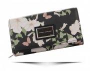 Dámská Peněženka Diana&Co v květech Multicolor Černá