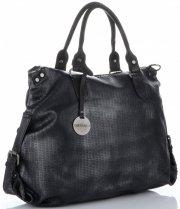 Uniwersalna Torebka Damska do noszenia na co dzień firmy Diana&Co w rozmiarze XL Czarna