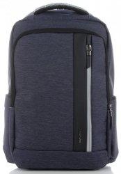 Uniwersalne i Solidne Plecaki Męskie XL marki David Jones Granatowy