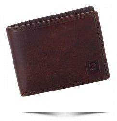 Pierre Cardin Pánská kožená peněženka Koňaková