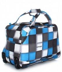 Cestovní taška na kolečkách s teleskopickou rukojetí renomované firmy David jones