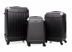 Exkluzivní sada kufrů Or&Mi 3v 1 cčerný