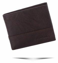 Pierre Cardin Pánská kožená peněženka čokoládová