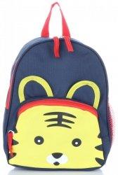 Plecaczki Dla Dzieci do Przedszkola firmy Madisson Tygrysek Multikolor - Granatowy