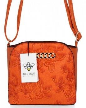BEE BAG Módní Dámská Kabelka Listonoška Lilly Oranžová