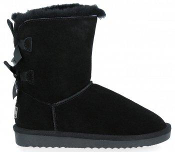 Módní Dámské Sneakersy Boty Sněhule Černé