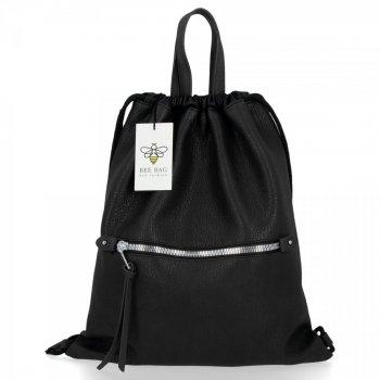 BEE BAG Univerzální Dámská Kabelka Shopper Bag Beatrice Černá