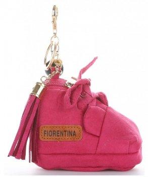 Přívěšek ke kabelce Bota Fiorentina Fuchsie