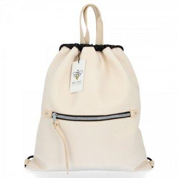 BEE BAG Univerzální Dámská Kabelka Shopper Bag Beatrice Béžová