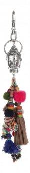 Přívěšek ke kabelce barevný Buddha Multikolor