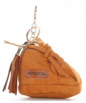 Přívěšek ke kabelce Bota Fiorentina zrzavý