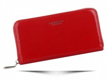 Elegantní Lakovaná Dámská Peněženka Diana&Co Červená